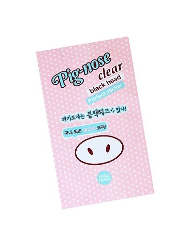 Holika Holika Parches Limpiaporos Pig-Nose Clear Black Head Perfect Sticker