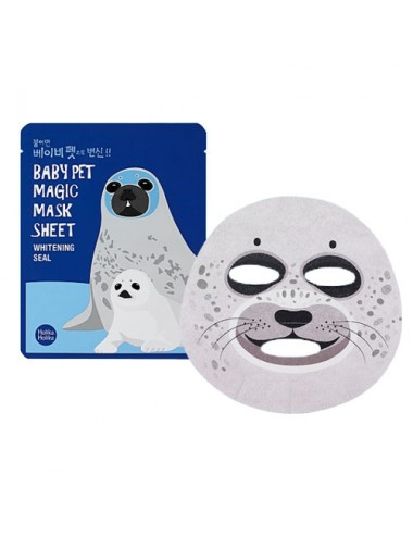 Holika Holika Mascarilla Anti-manchas Baby Pet Magic Mask Sheet Whitening Seal