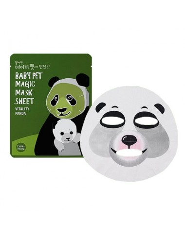Holika Holika Mascarilla Revitalizante Baby Pet Magic Mask Sheet Vitality Panda