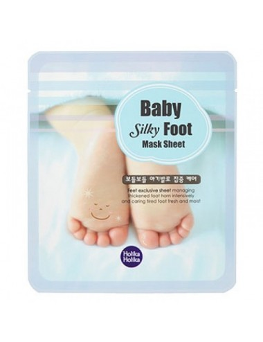 Holika Holika Mascarilla Hidratante Pies Baby Silky Foot Mask Sheet
