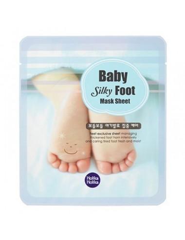 Holika Holika Mascarilla Hidratante Pies Baby Silky Foot Mask Sheet