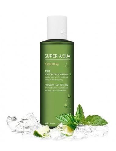 Missha Tónico Purificante e Hidratante Super Aqua Pore Kling