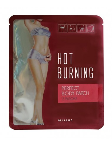 Parches Reductores  y Refirmantes Missha Hot Burning Perfect Patch- 2 parches