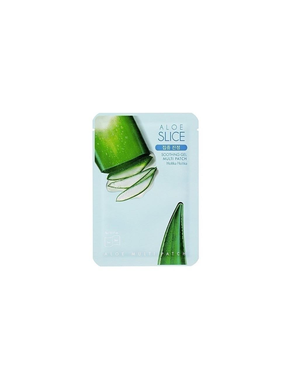 Holika Holika Parches Calmantes de Cara y Cuerpo Aloe Soothing Gel Multi Patch
