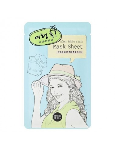 Holika Holika Mascarilla Iluminadora After Taking a Trip Mask Sheet