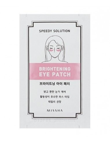 Parches Anti Ojeras para Contorno de Ojos MISSHA Speedy Solution Brightening Eye Patch