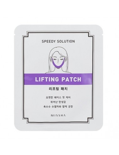 Parche Reafirmante de Óvalo Facial  MISSHA Speedy Solution Lifting Patch
