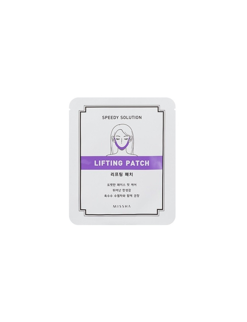 Parche Reafirmante de Óvalo Facial  MISSHA Speedy Solution Lifting Patch