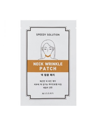 Parches Anti-arrugas para Cuello  MISSHA Speedy Solution Neck Wrinkle Patch