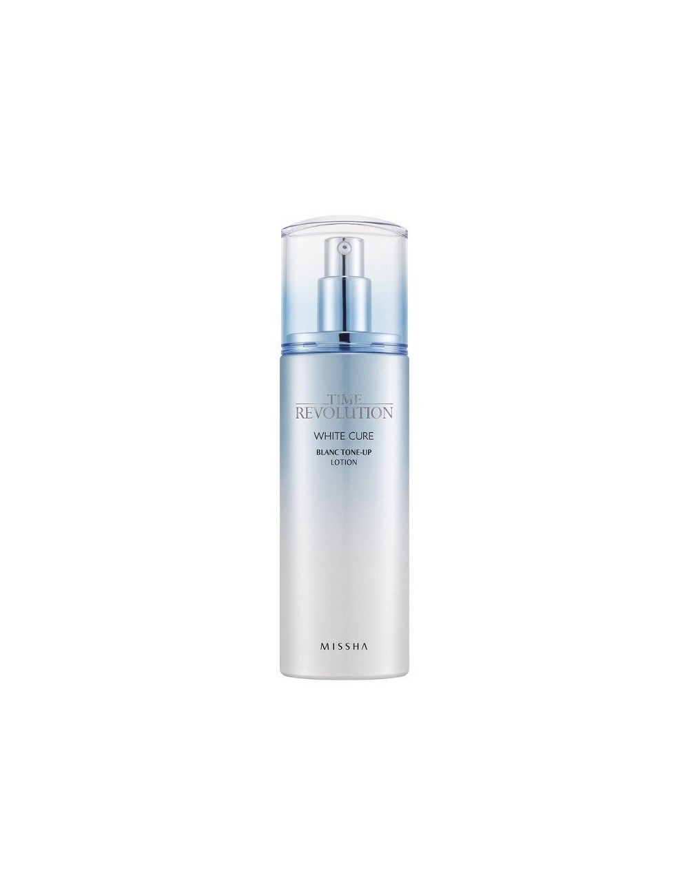 Loción Anti-manchas Hidratante MISSHA Time Revolution White Cure Blanc Tone Up Lotion