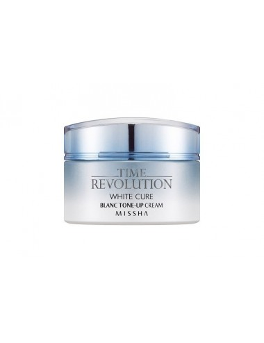 Crema Anti-manchas Hidratante MISSHA Time Revolution White Cure Blanc Tone Up Cream