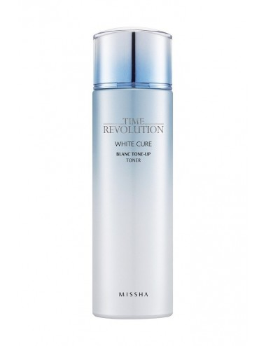 Tónico Anti-manchas Hidratante MISSHA Time Revolution White Cure Blanc Tone Up Toner
