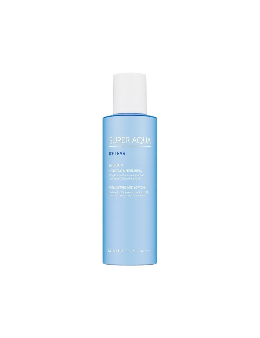 Emulsión Hidratante MISSHA Super Aqua Ice Tear Emulsion