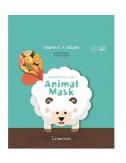 Mascarilla Anti-Manchas Berrisom Animal Mask Series Sheep