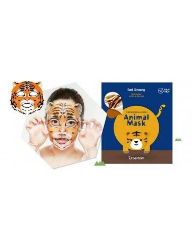 Mascarilla Revitalizante Berrisom Animal Mask Series Tiger