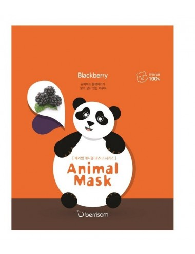 Mascarilla Anti-manchas e Iluminadora Berrisom Animal Mask Series Panda