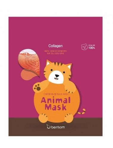 Mascarilla Reafirmante Berrisom Animal Mask Series Cat