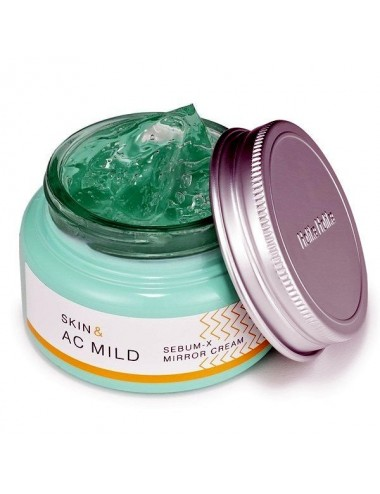 Crema Anti-acné Holika Holika Skin & AC Mild Sebum-X Mirror Cream