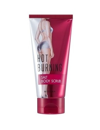 Exfoliante Reductor y Refirmante Missha Hot Burning Salt Body Scrub