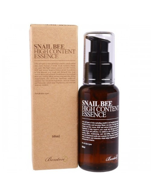 Esencia Anti-arrugas y Anti-manchas - Benton Snail Bee High Content Essence