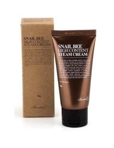 Crema Anti-arrugas y Anti-manchas - Benton Snail Bee High Content Steam Cream