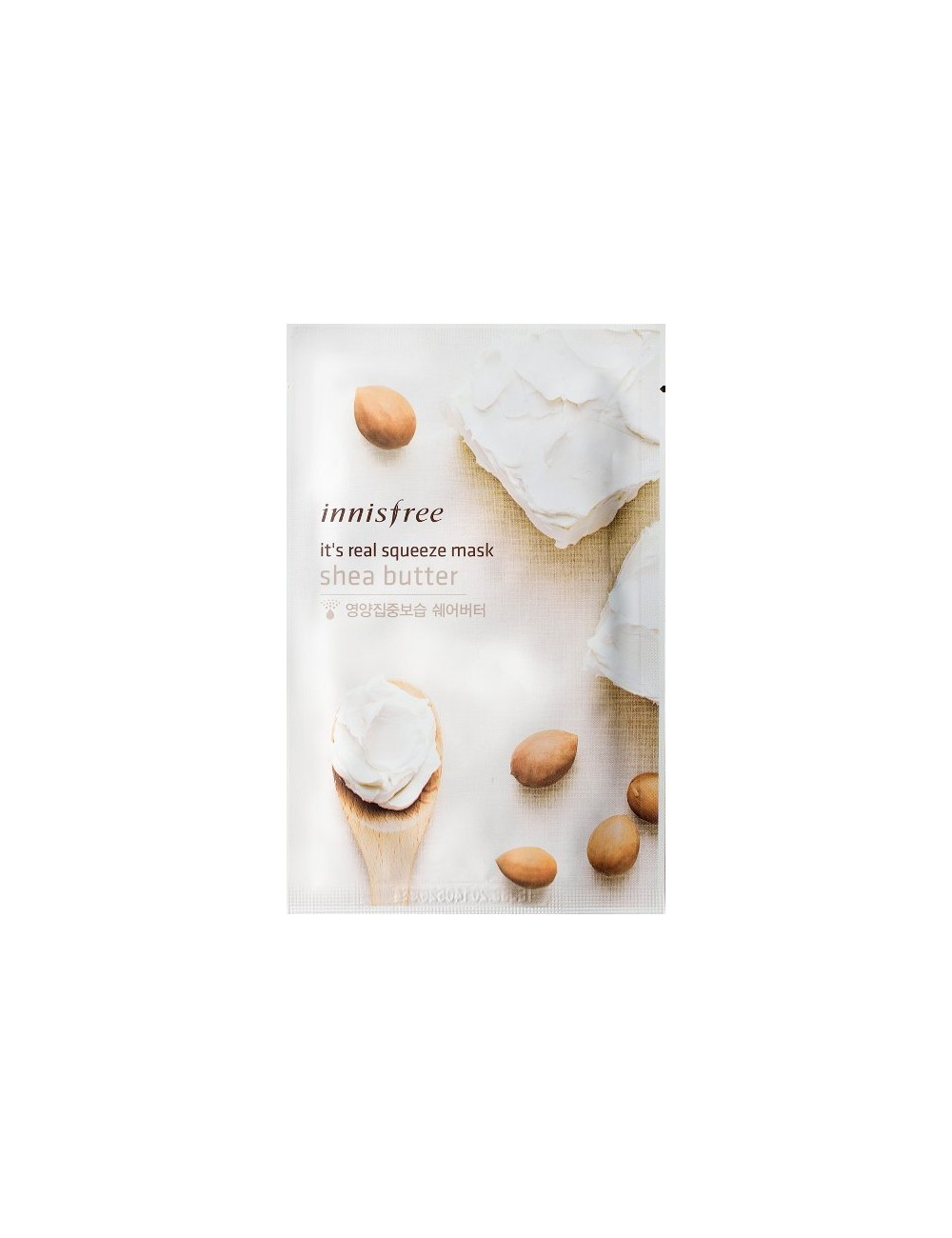 Mascarilla Nutritiva Innisfre It's Real Squeeze Mask Shea Butter