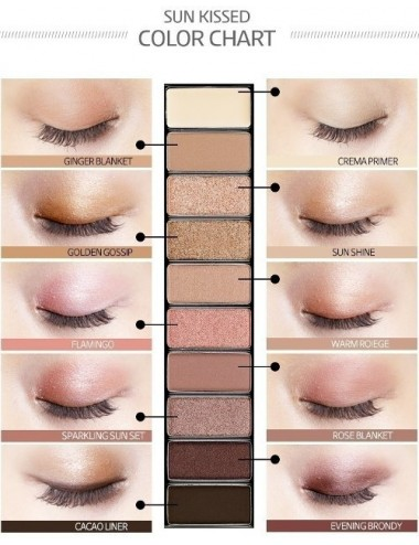 Holika Holika Paleta de Sombras Pro:Beauty Eyeshadow Palette 01 Sun Kissed