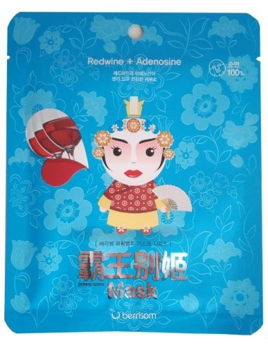 Mascarilla Anti-Arrugas Berrisom Peking Opera Lady Mask