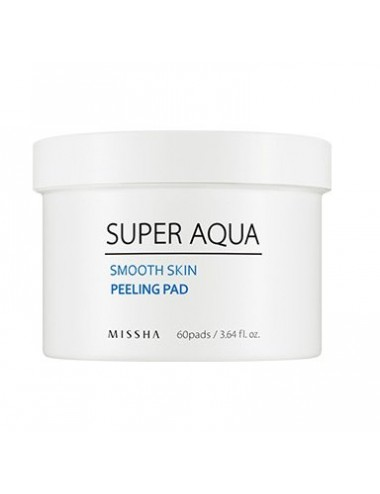 Exfoliante Facial MISSHA Super Aqua Smooth Skin Peeling Pad