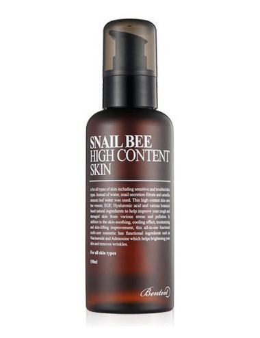 Tónico Anti-arrugas y Anti-manchas - Benton Snail Bee High Content Skin