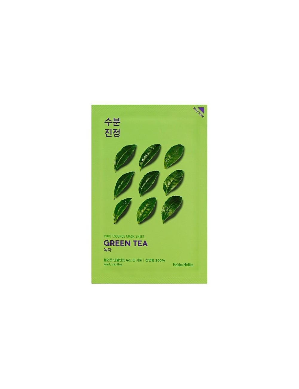 Mascarilla Calmante Holika Holika Pure Essence Mask Sheet Green Tea