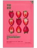 Mascarilla Iluminadora Holika Holika Pure Essence Mask Sheet Strawberry