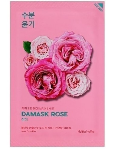 Mascarilla Anti-edad Holika Holika Pure Essence Mask Sheet Damask Rose