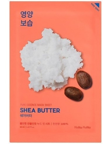 Mascarilla Nutritiva Holika Holika Pure Essence Mask Shea Butter