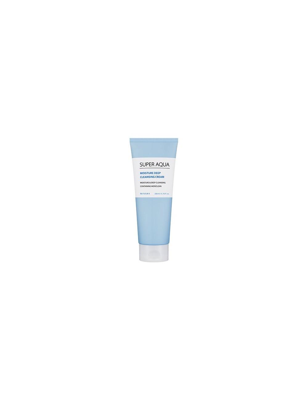 Crema Limpiadora Purificante Missha Super Aqua Moisture Deep Cleansing Cream