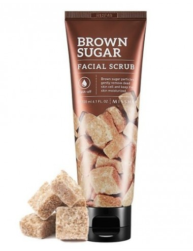 Exfoliante para piel seca y sensible Missha Brown Sugar Facial Scrub