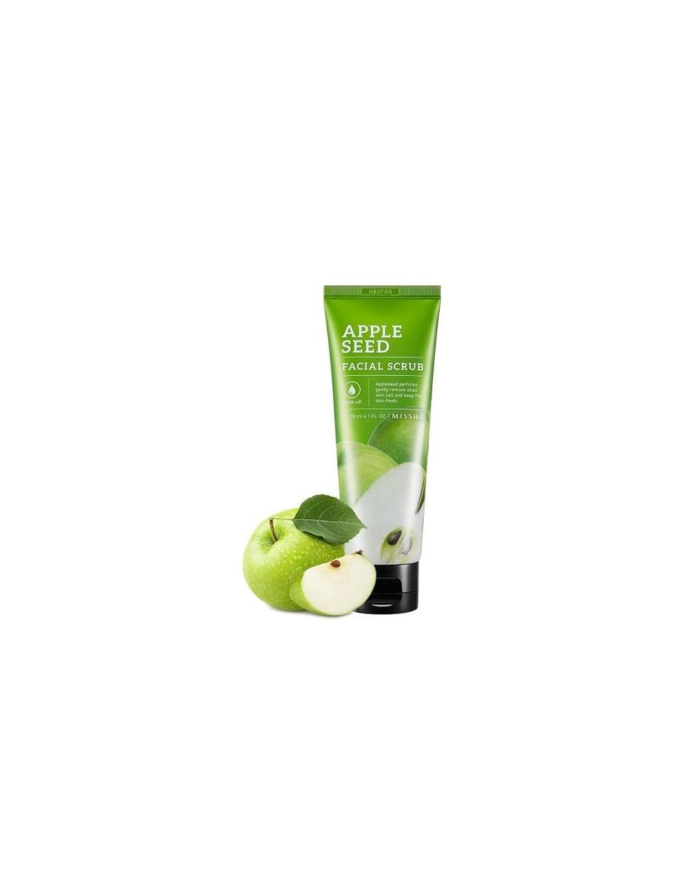 Exfoliante para piel grasa Missha Apple Seed Facial Scrub