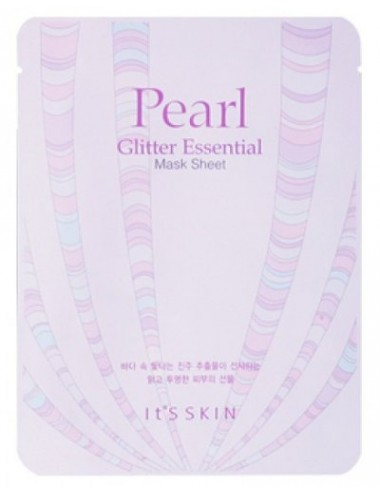 Mascarilla Iluminadora It´s Skin Pearl Glitter Essential Mask Sheet