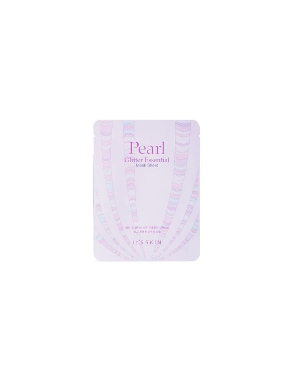 Mascarilla Iluminadora It´s Skin Pearl Glitter Essential Mask Sheet