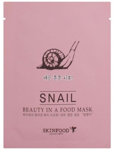 Mascarilla Reafirmante SKINFOOD Beauty in a Food Mask Snail