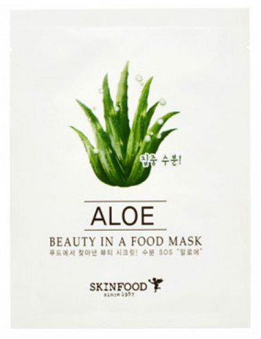 Mascarilla Hidratante SKINFOOD Beauty in a Food Mask Aloe