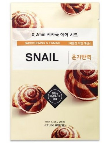 Mascarilla Anti-arrugas Etude House 0.2 Therapy Air Mask Snail