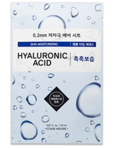 Mascarilla Hidratante Etude House 0.2 Therapy Air Mask Hyaluronic Acid