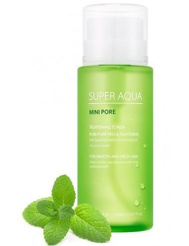 Tónico para Poros Dilatados Missha Super Aqua Mini Pore Tightening Toner