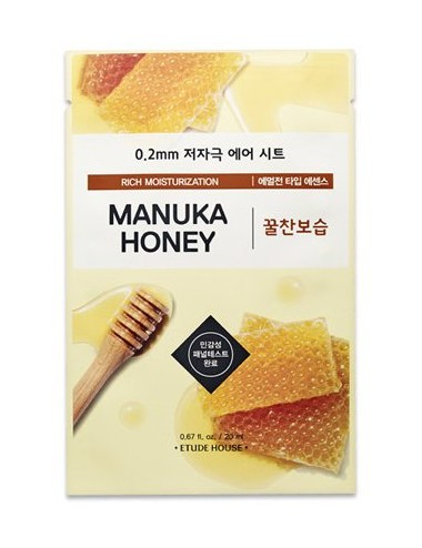 Mascarilla Anti-edad  Etude House 0.2 Therapy Air Mask Manuka Honey