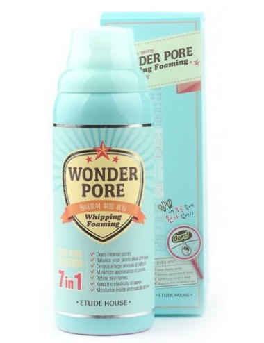 Espuma Limpiadora + Mascarilla Etude House Wonder Pore Whipping Foaming