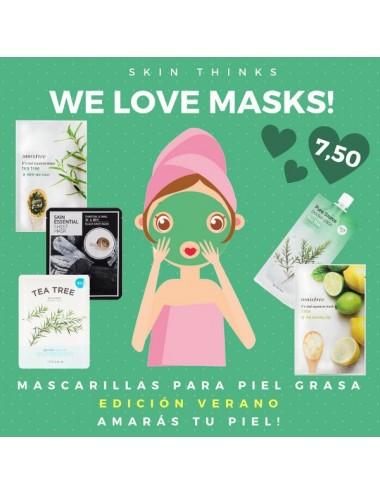 Pack Mascarillas para Piel Grasa Edición Verano