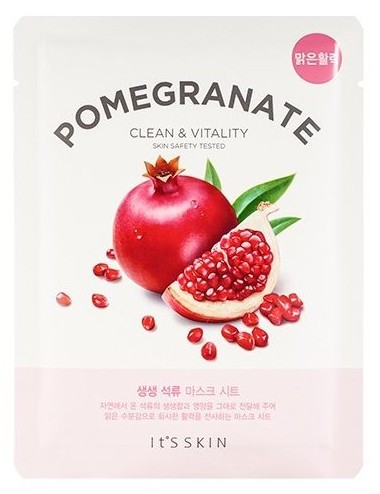 Mascarilla Detox Revitalizante It´s Skin The Fresh Mask Pomegranate (Granada)