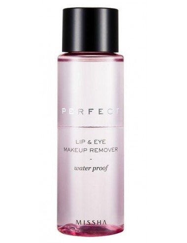 Desmaquillador para Ojos y Labios MISSHA Perfect Lip & Eye Make-Up Remover (Water-Proof)