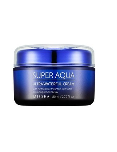 Crema Hidratante Intensiva (Anti-edad y Anti-manchas) MISSHA Super Aqua Ultra Waterful Cream 80ml